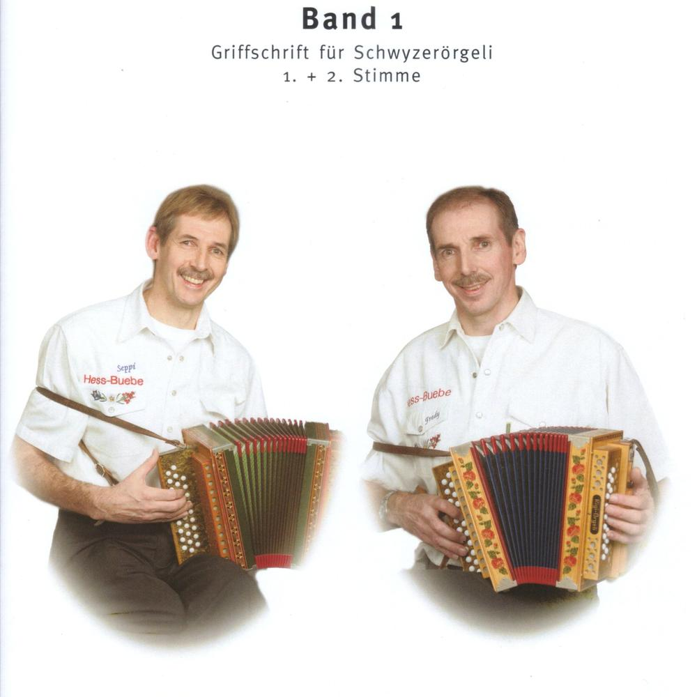 Musig vo de Hess Buebe - Band 1 (mit sep. 2. Stimme)